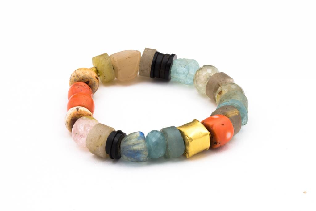 Eli Halili SEMI-PRECIOUS WRAPPED BEADED BRACELET