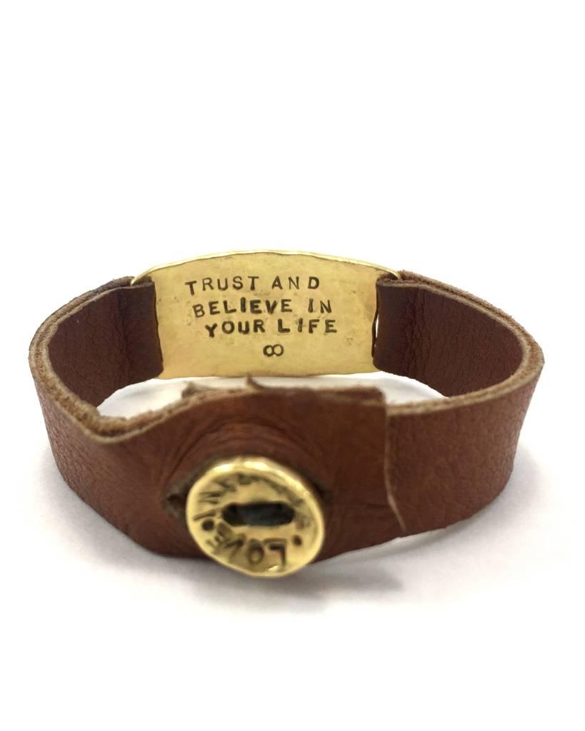Aurora Lopez Mejia Small 18k Gold ID Bracelet