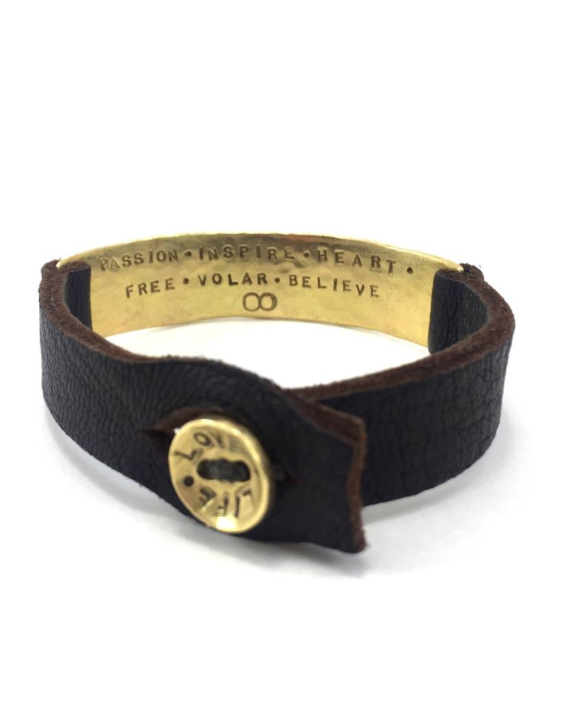 Aurora Lopez Mejia 18k Gold Men's ID Bracelet