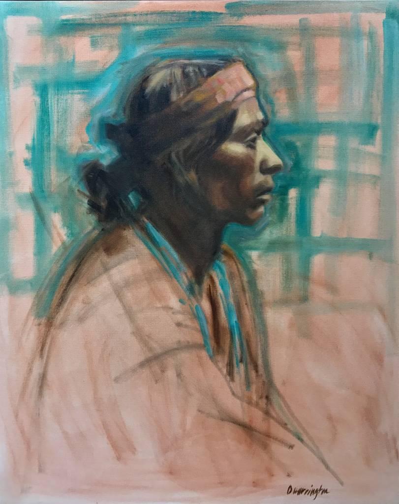 Deborah Harrington Navajo Man