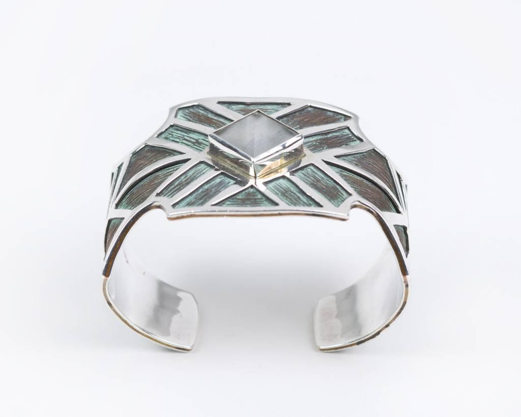 Pyramid - Cuff Bracelet