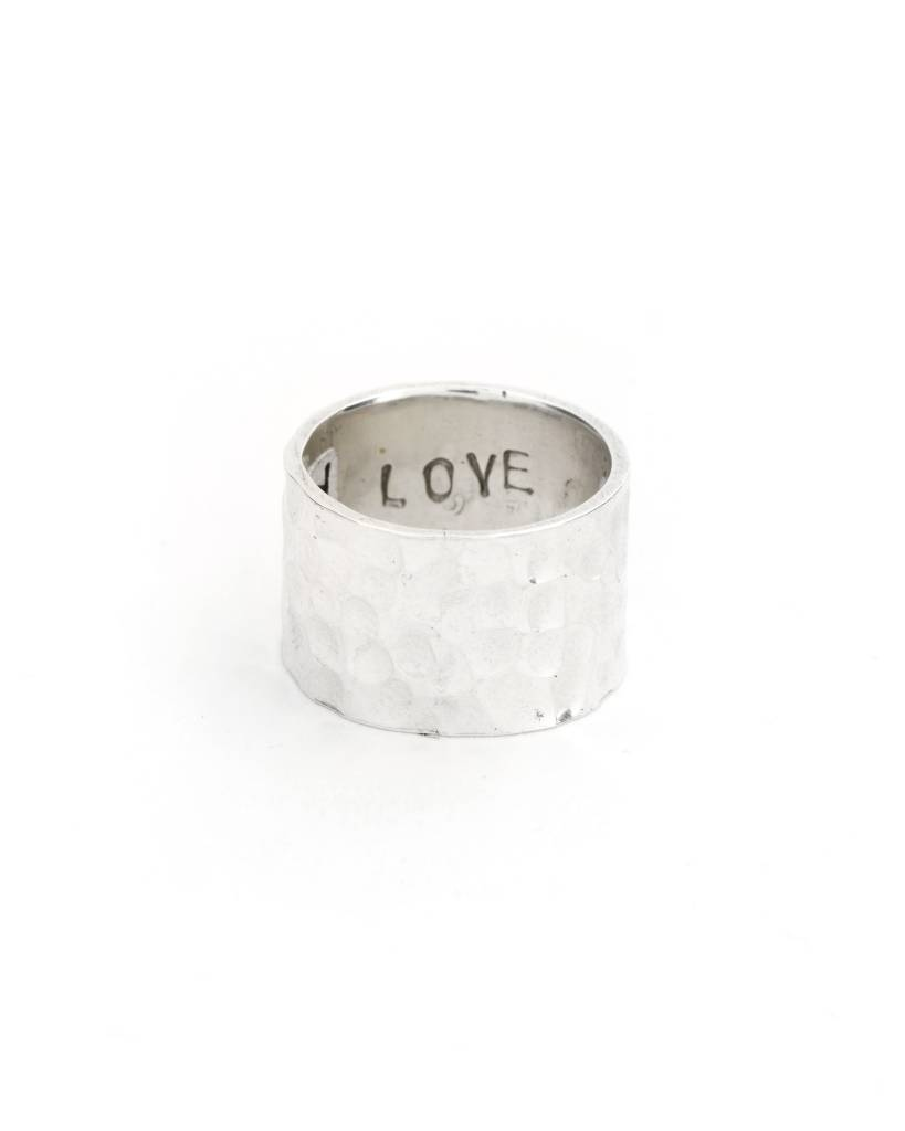 Hammered Ring - Size 6.5