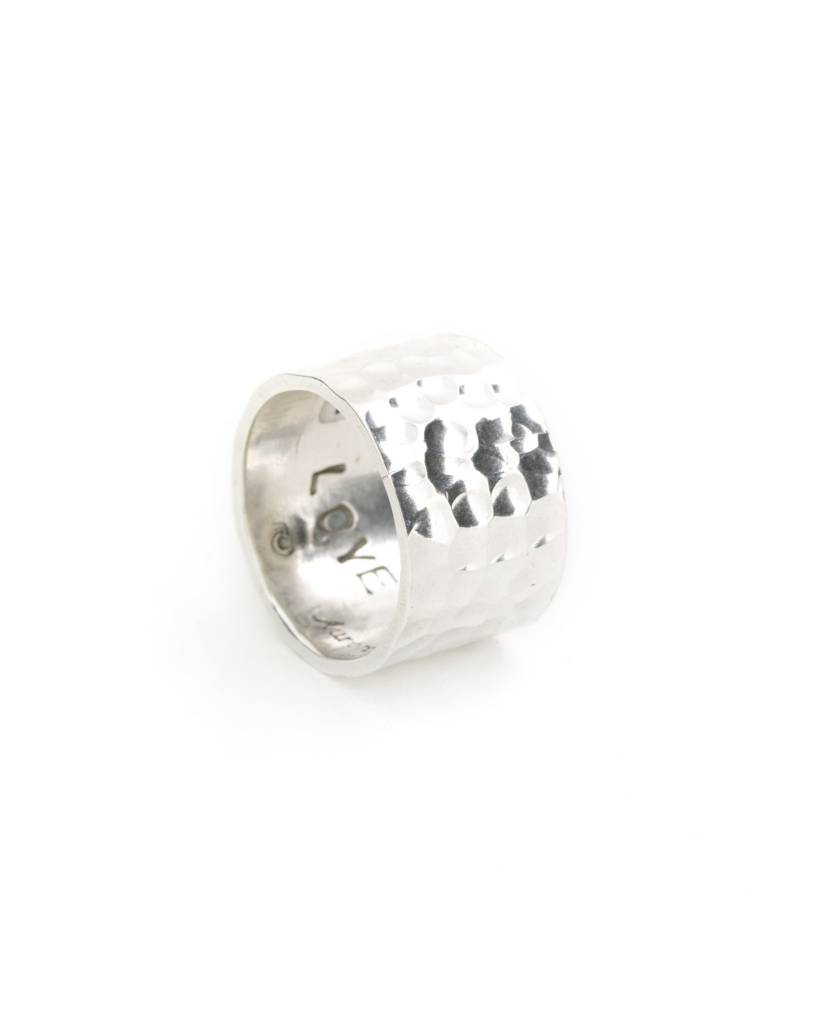 Hammered Ring - Size 9.75