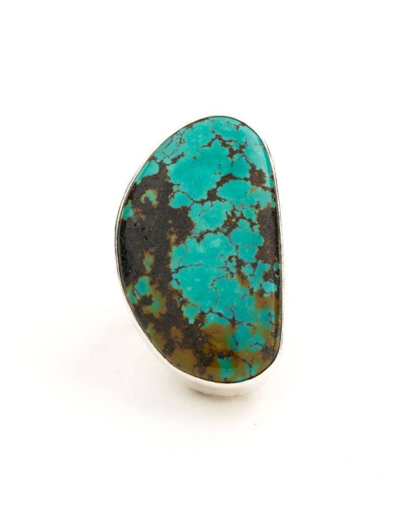 Caribbean - Large stone ring