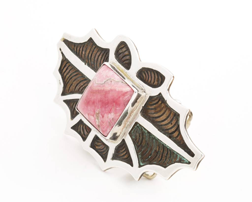 Pink Mountain - Belt Buckle