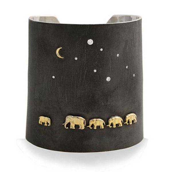 SILVER TSAVO NIGHTS CUFF