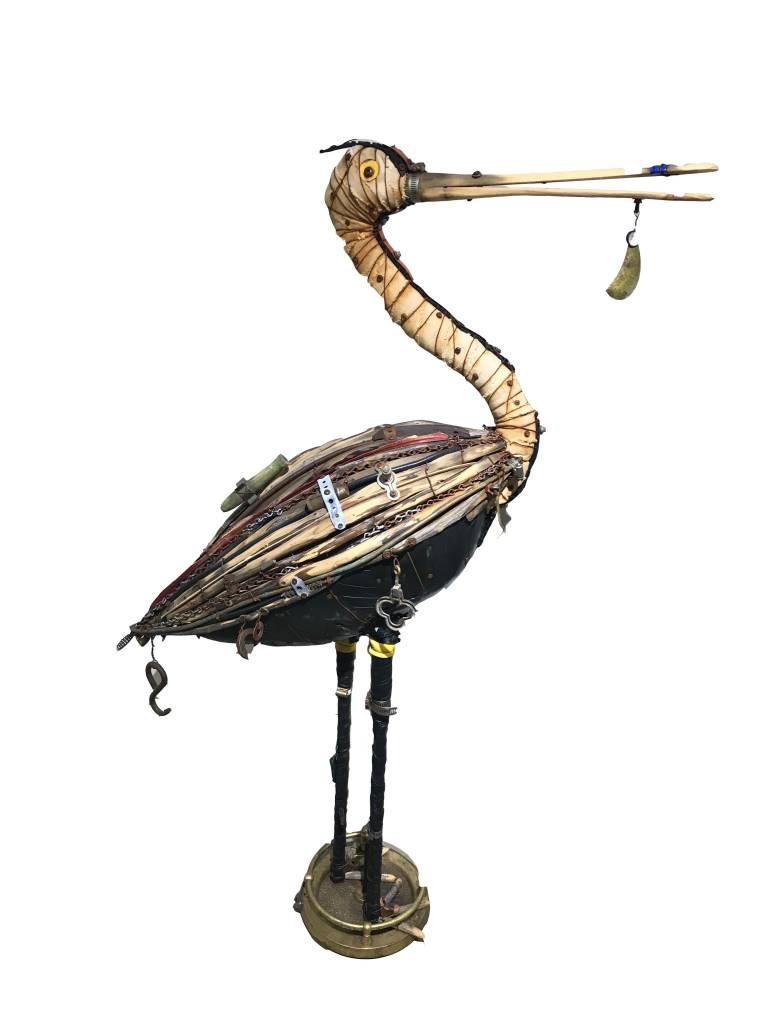 Geoffrey Gorman Roseated Spoonbill