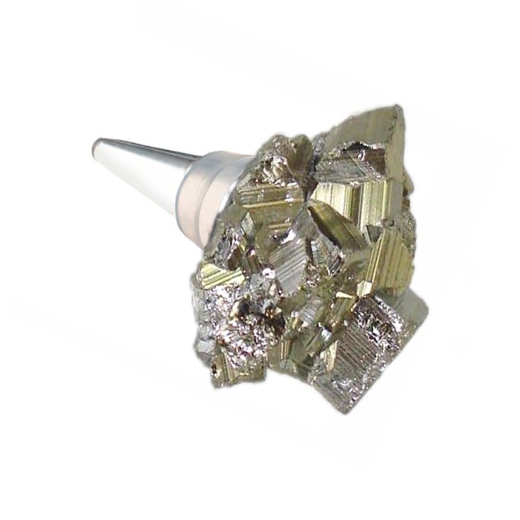 Lia Bottle Stopper - Pyrite