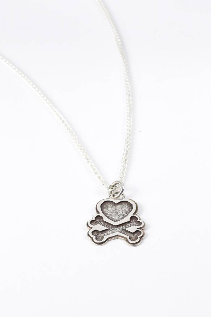 Heart & Crossbones Pendant