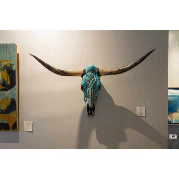 Turquoise Longhorn