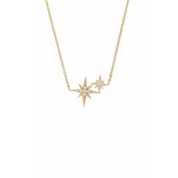 Double Starburst Necklace