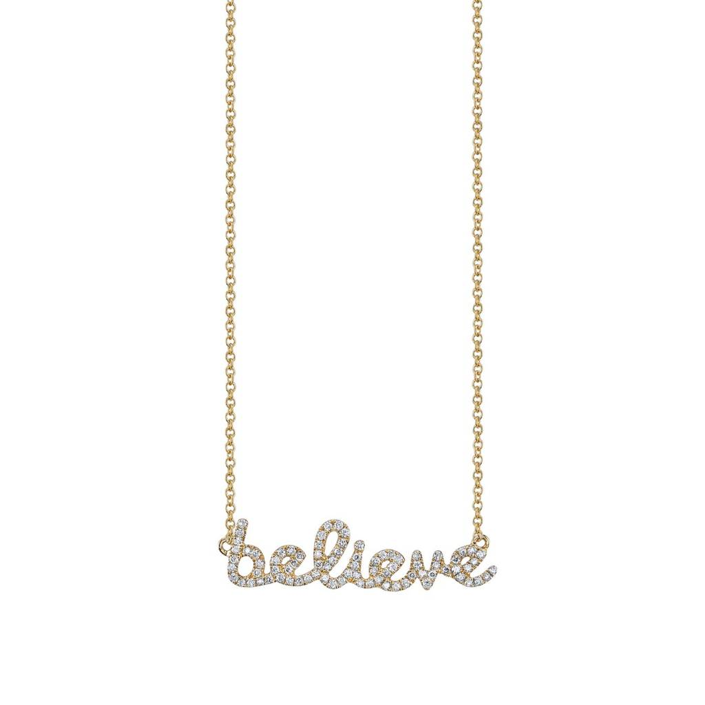 Small Believe Necklace