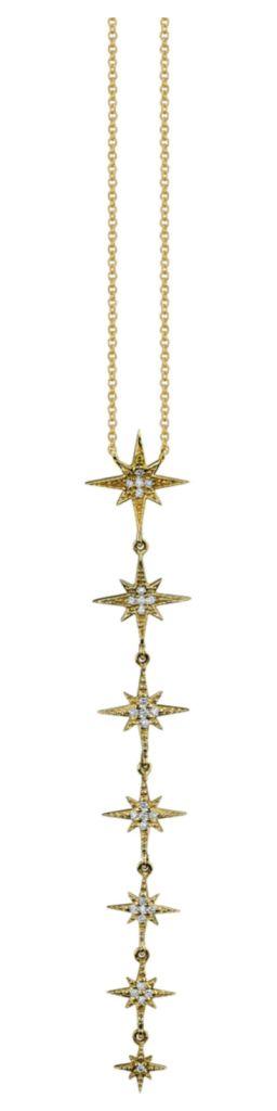 Pave Starburst Necklace