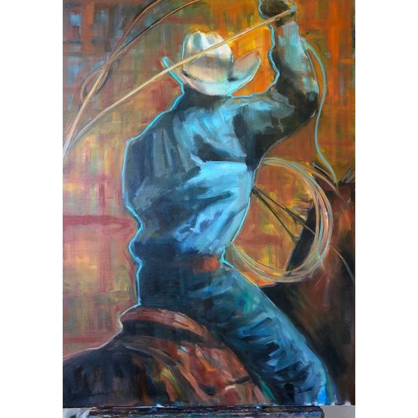 Roping *Sold*