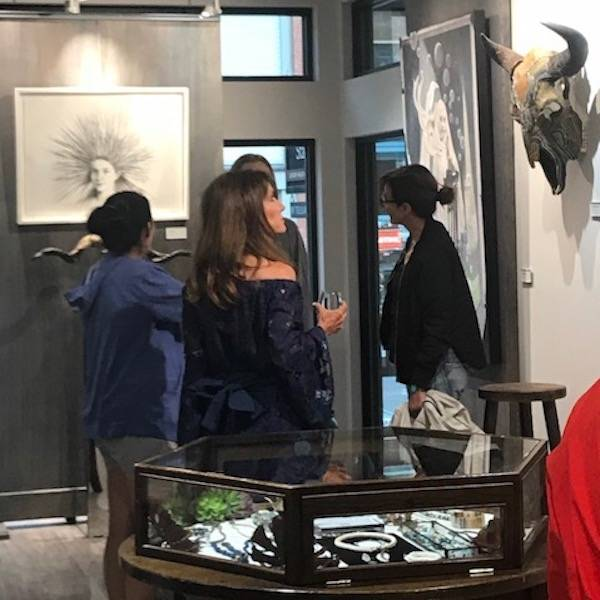 Alexandra Eldridge + Ali Launer Art Walk | July 2018