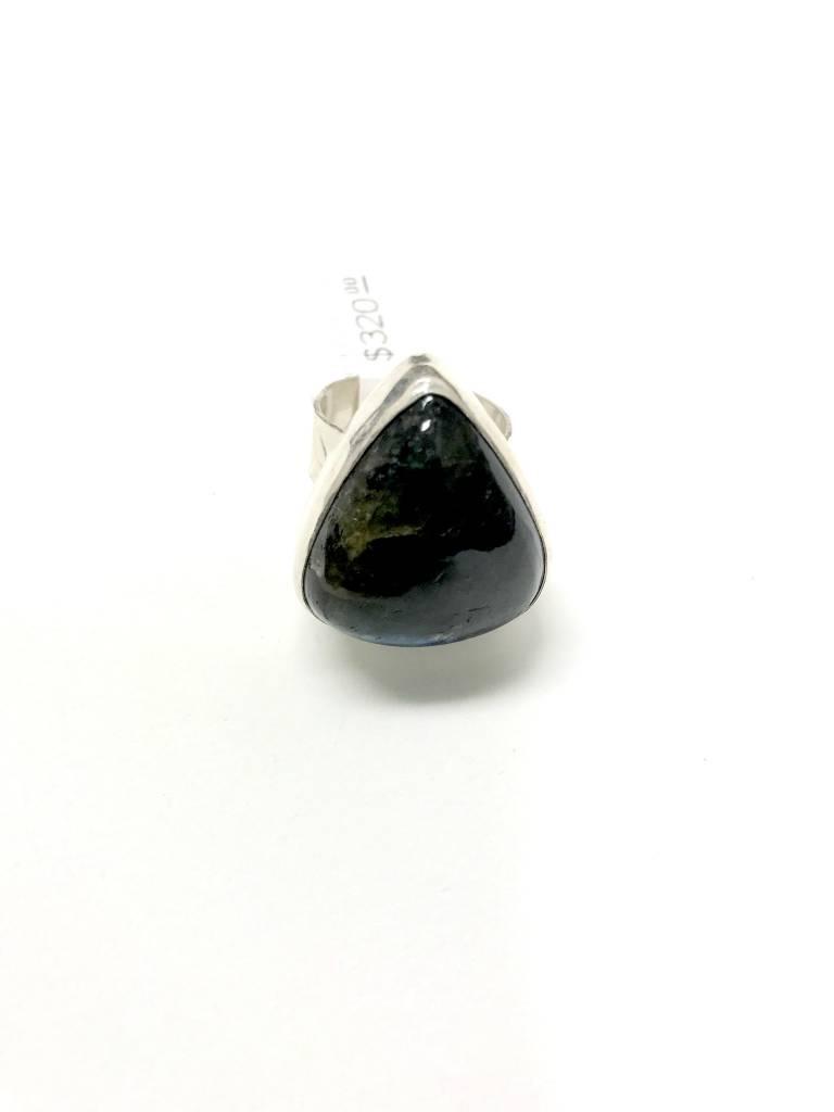 Labradorite/Silver Ring