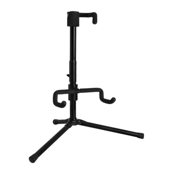 On-Stage On-Stage Electric Guitar Stand with Push-Dwon Spring-Up locking mechanism.