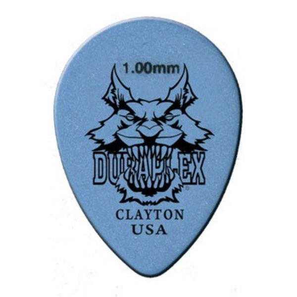 Clayton Clayton DURAPLEX PICK SMALL TEARDROP .88MM /12