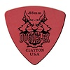 Clayton DURAPLEX PICK ROUNDED TRIANGLE .88MM /12