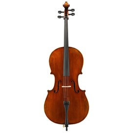 Eastman Strings Eastman Cello 1/4 Cello Only w/Set-Up (SVC2)- Hand-Crafted of select aged spruce top & highly flamed maple back, ribs & scroll, hand-applied antique varnish