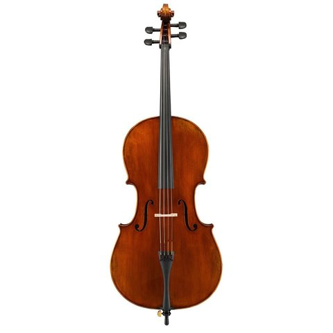 Eastman Cello 1/4 Cello Only w/Set-Up (SVC2)- Hand-Crafted of select aged spruce top & highly flamed maple back, ribs & scroll, hand-applied antique varnish
