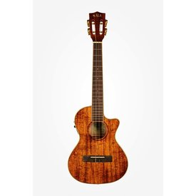 Kala Kala Hawaiian Koa Ukulele, Tenor Cutaway with EQ
