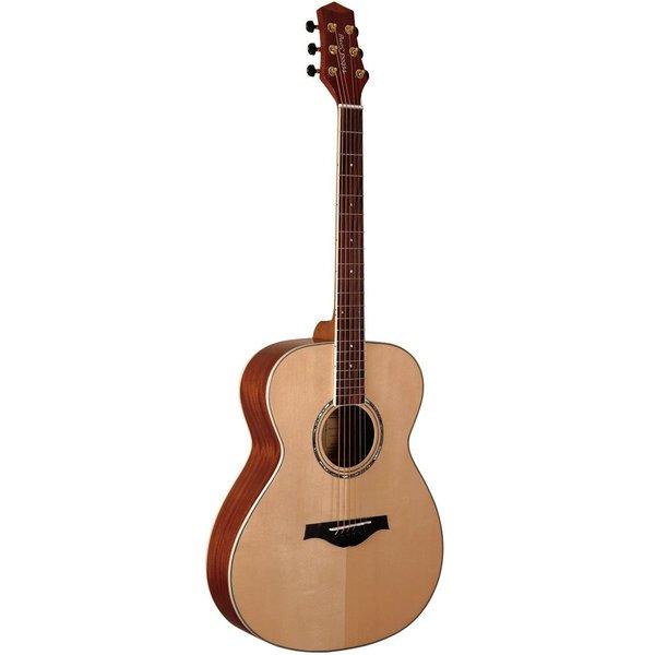 WoodSong Guitar Natural wood w/ pickup