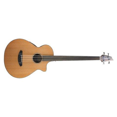 Breedlove Solo Jumbo Fretless Bass CE Red Cedar-Indian Rosewood