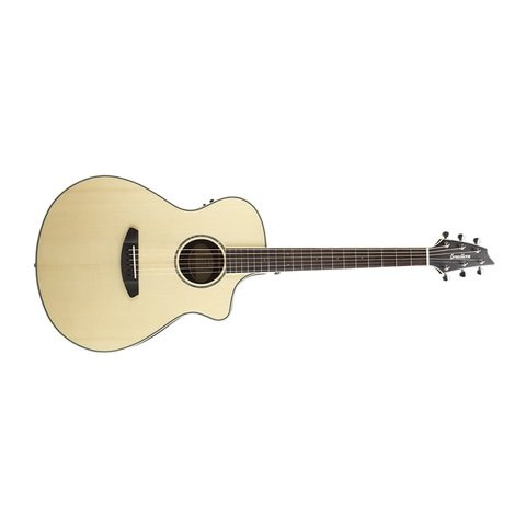 Breedlove Pursuit Exotic Concert CE Engelmann-Striped Ebony