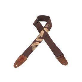"Levy's 2"" wide cotton guitar strap."