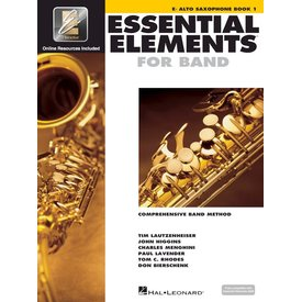 Hal Leonard Essential Elements For Band Book 1 - Eb Alto Saxophone