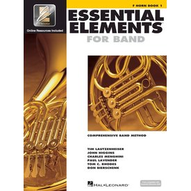Hal Leonard Essential Elements For Band Book 1 - F Horn