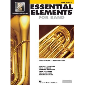 Hal Leonard Essential Elements For Band Book 1 - Tuba in C (B.C.)