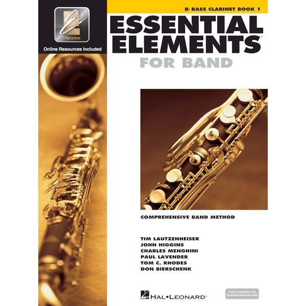Hal Leonard Essential Elements For Band Book 1 - Bb Bass Clarinet