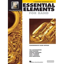 Hal Leonard Essential Elements For Band Book 1 - Eb Baritone Saxophone
