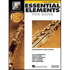 Hal Leonard Essential Elements For Band Book 1 - Eb Alto Clarinet