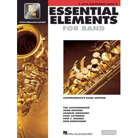 Hal Leonard Essential Elements For Band Book 2 - Eb Alto Saxophone
