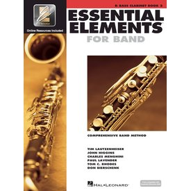 Hal Leonard Essential Elements For Band Book 2 - Bb Bass Clarinet
