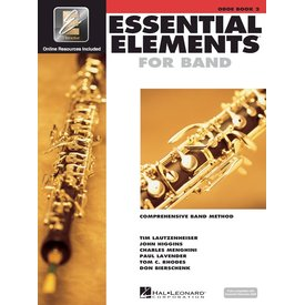 Hal Leonard Essential Elements For Band Book 2 - Oboe