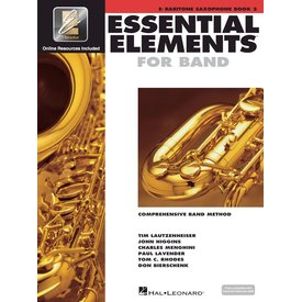 Hal Leonard Essential Elements For Band Book 2 - Eb Baritone Saxophone