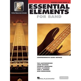 Hal Leonard Essential Elements For Band Book 2 - Electric Bass