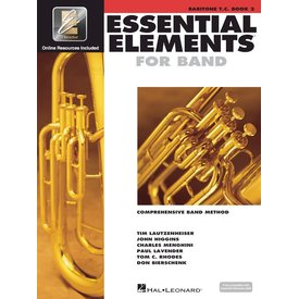 Hal Leonard Essential Elements For Band Book 2 - Baritone T.C.