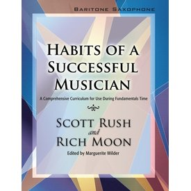 GIA Publications Habits Of A Successful Musician - Baritone Saxophone