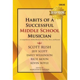 GIA Publications Habits Of A Successful Middle School Musician - Oboe