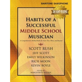 GIA Publications Habits Of A Successful Middle School Musician - Baritone Saxophone
