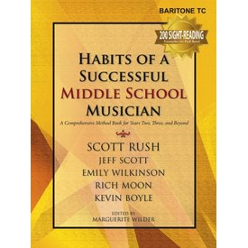 GIA Publications Habits Of A Successful Middle School Musician - Baritone TC