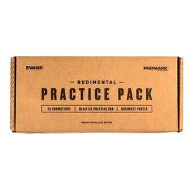 Promark Evans & Promark Rudimental Practice Pack