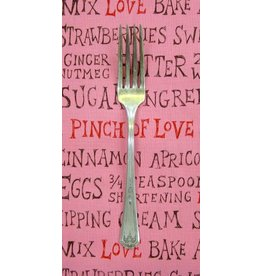 PD's Alexander Henry Collection In The Kitchen - Key Ingredients in Dark Pink, Dinner Napkin