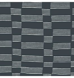 Lotta Jansdotter Lucky, Etapp in Midnight Navy, Fabric Half-Yards