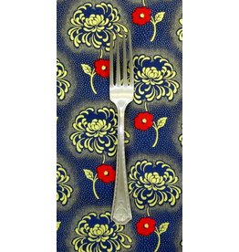 PD's Timeless Treasures Collection Charleston Hollywood in Navy with Metallic, Dinner Napkin